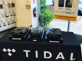 Two CDJ 2000NXS2's and an S9 for a corporate event