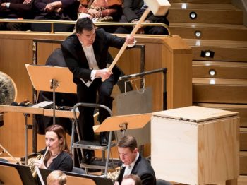 Our Mahler box, on tour with the National Symphony